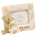 Button Corner My Scan Baby Photo Frame