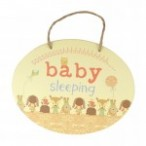 Hush Little Baby Door Plaque