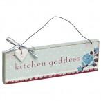 Kitchen Goddess Plaque
