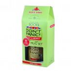 Dont Panic Mug and Sock Gift Set - Dads Army