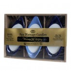 Spa Massage Candles - Warming and Uplifting pack of 3