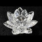 Crystal Lotus Flower Clear
