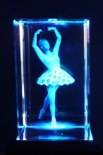 Dancing Girl Laser Block