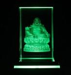 Buddha Maitreya Laser Block