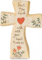 Heavenly Woods Cross Trust In The Lord