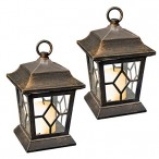 Solar Garden Lanterns Set of 2
