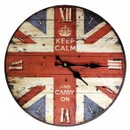 Wall Clocks-Keep Calm and Carry On