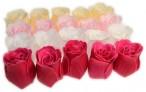 Bath Confetti -20 Roses Box - Multi Colour