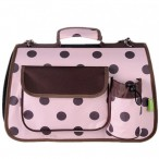 Large Polkadots Igloo Carrier Pink