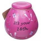 Its Your 18th Pot of Dreams