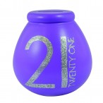 Celebrate 21st Birthday Blue