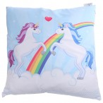 Decorative Unicorn Couple Cushion