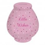 Little Wishes Money Pot:Spotty Pot