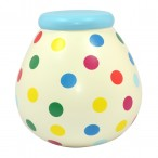 Multicolour Spots Pot of Dreams Blue Top