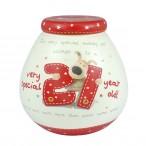 Boofle 21st Birthday Pot of Dreams