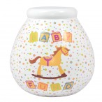 Baby Fund Rocking Horse Design Pot of Dreams
