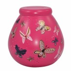 Pot Of Dreams Ceramic Money Pot BUTTERFLY