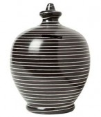 Terramundi: Black and White Mini Stripes