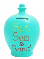 Terramundi Sun Sea Sand Money Pot