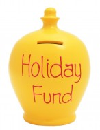 Terramundi Holiday Fund Money Pot Yellow