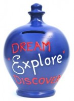 Terramundi Dream Explore Discover Money Pot