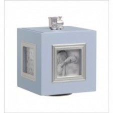 Musical Photo Cube in Blue