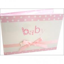 Bella Baby Girl Photo Album Pink