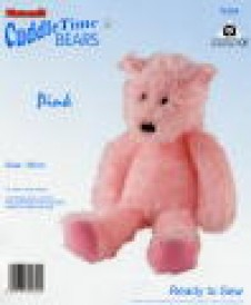 Cuddle Time Bear Kit by Minicraft Pink