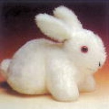 Cuddly Rabbit 11 inch