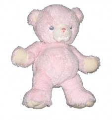 12 inch Plush Soft Pink Bear