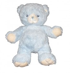 12 inch Plush Soft Blue Bear