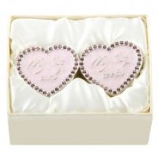 Heart Shape Tooth and Curl Box in Pink