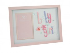 3D Letter Frame Baby Girl by Talking Pictures Product