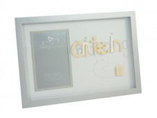 3D Letter Frame Christening by Talking Pictures