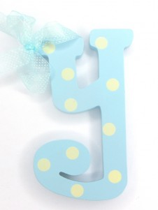 Hanging Letters Baby Boy  Y