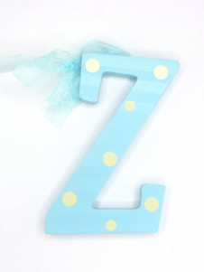 Hanging Letters Baby Boy Z