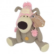 Boofle Extra Special Person Wearing a pink hat