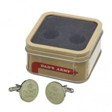 Dads Army Cufflinks Dont Panic
