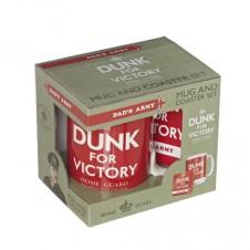 Dunk For Victory Mug and Coaster Set