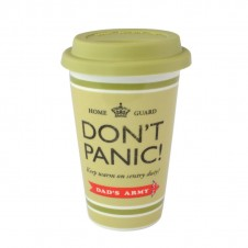 Dads Army Dont Panic Travel Mug