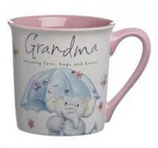 Elliot and Buttons Mug - Grandma