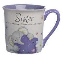 Elliot and Buttons Mug - Sister