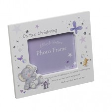 On Your Christening Elliot and Buttons Photo Frame