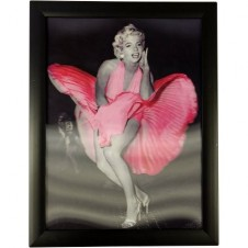 Iconic 3D- Marilyn Pink Dress