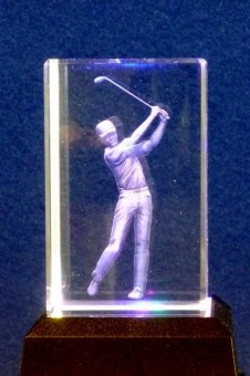 Golf Crystal Block