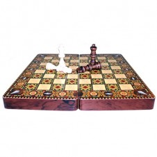 Greek Style Lacquered Chess Set