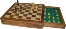 Beautifully Made Square Chess Box - Magnetic