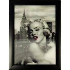 Iconic 3D 25x35cm - Marilyn