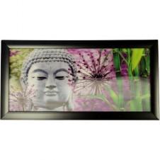 Iconic 3D - Silver Buddha