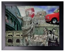 Iconic 3D Roman Holiday